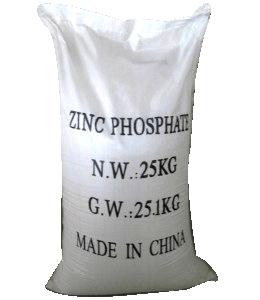 Kẽm photphat Zn3(PO4)2.12H2O 98% Trung Quốc