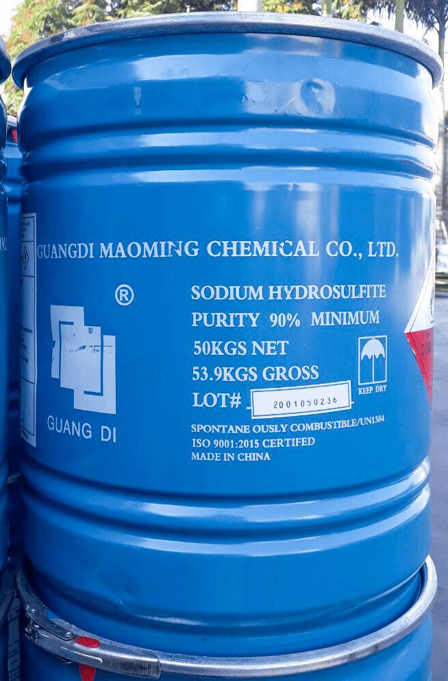Sodium Hydrosulfite Na2S2O4 | Tẩy Đường