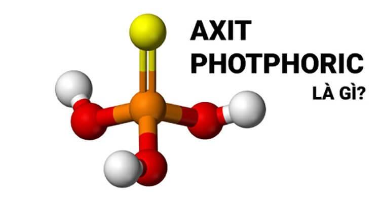 Axit Photphoric là một axit trung bình