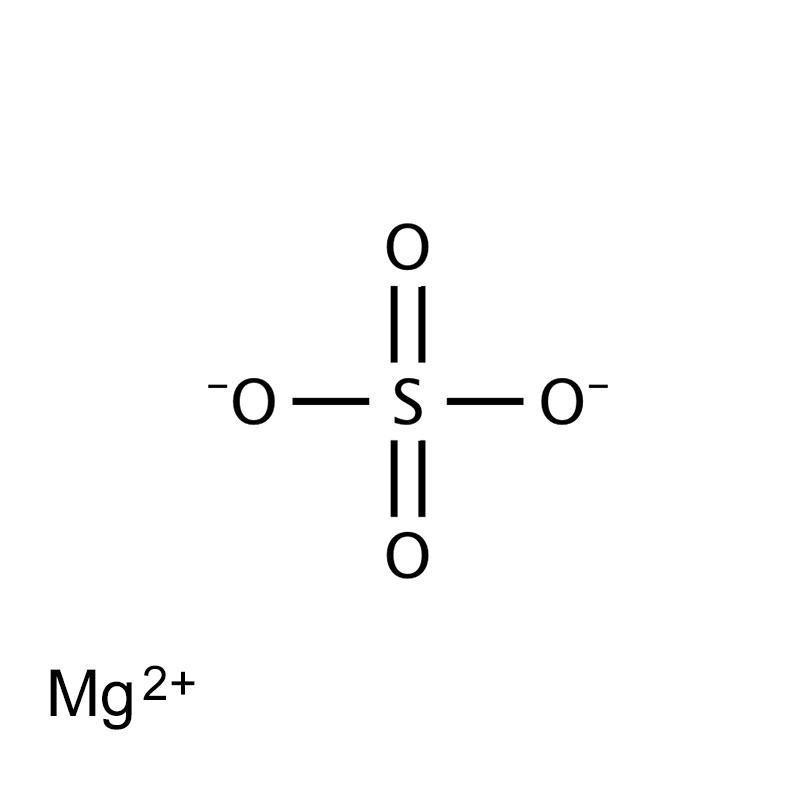 Cấu tạo phân tử củaMgSO4