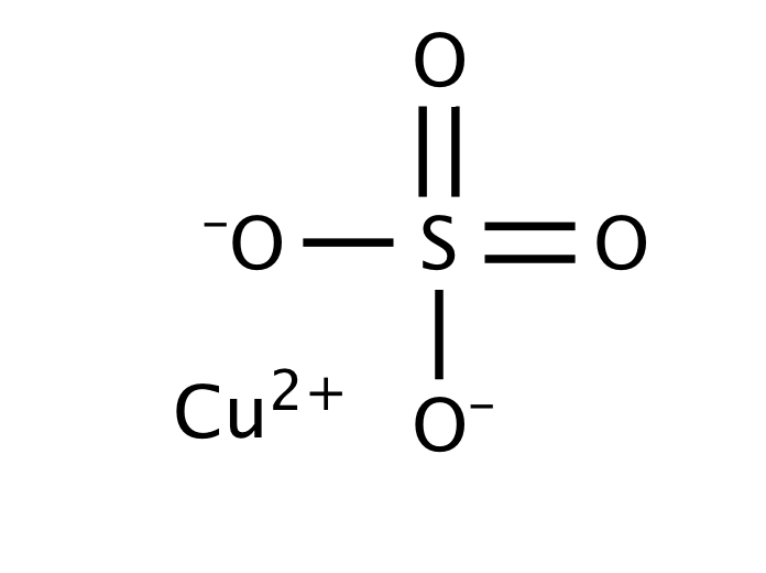 Cấu tạo phân tử của CuSO4