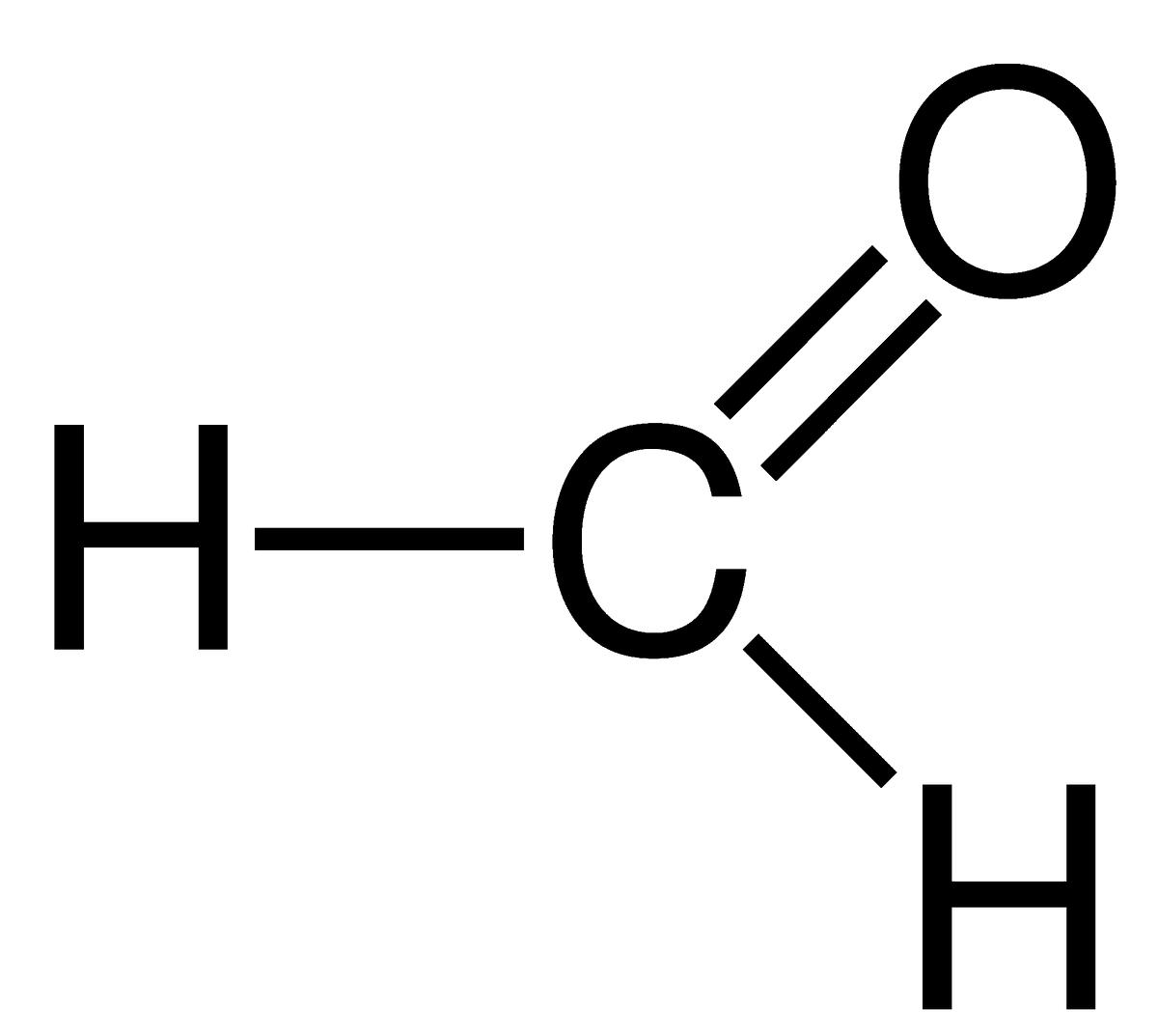 Cấu tạo phân tử FormaldehydeHCHO