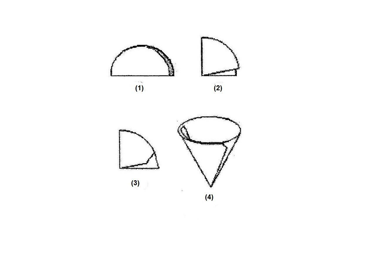Cách xếp giấy lọc dạng côn (lọc lấy két tủa)