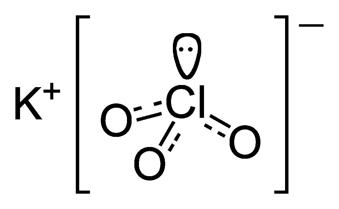 Công thức phân tử của Kali clorat KClO3