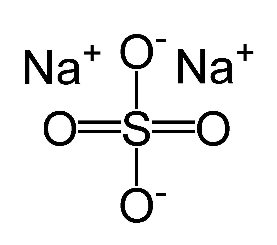 Công thức phân tử củaNa2SO4