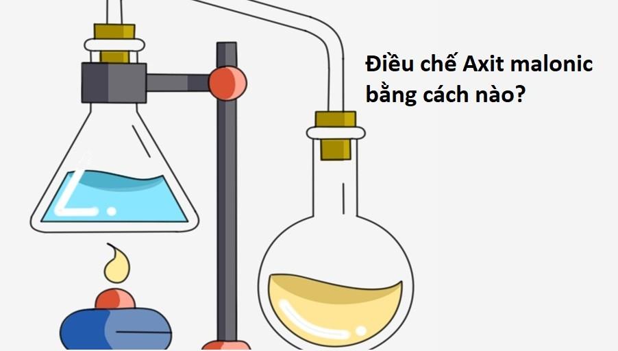 Axit malonic được điều chế như thế nào?