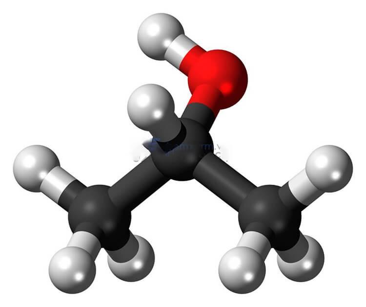 Cấu tạo phân tử của IPA