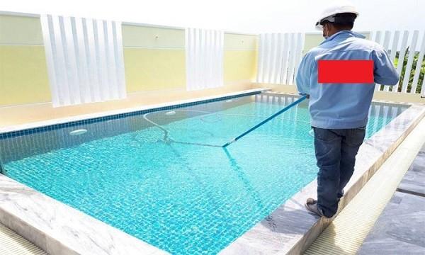 Axit Hipoclorơ được sử dụng trong tiệt trùng hồ bơi