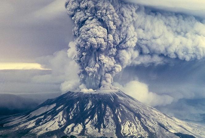 CO2 sinh ra từ các vụ phun trào núi lửa