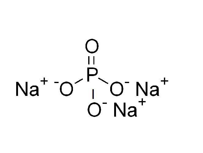 Cấu tạo phân tử của Na3PO4 Natri photphat