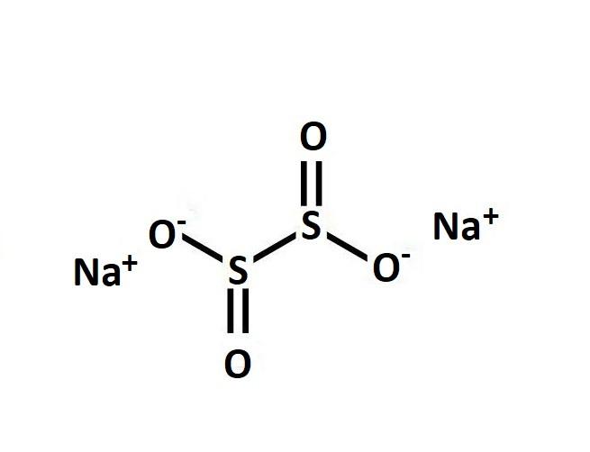 Cấu tạo phân tử của Na2S2O4