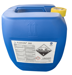 Hóa chất chống cáu cặn màng RO FLOCON 260