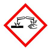 biển cảnh báo nguy hiểm axit oxalic