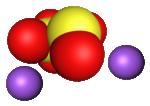 Cấu trúc phân tử Sodium metabisulfite