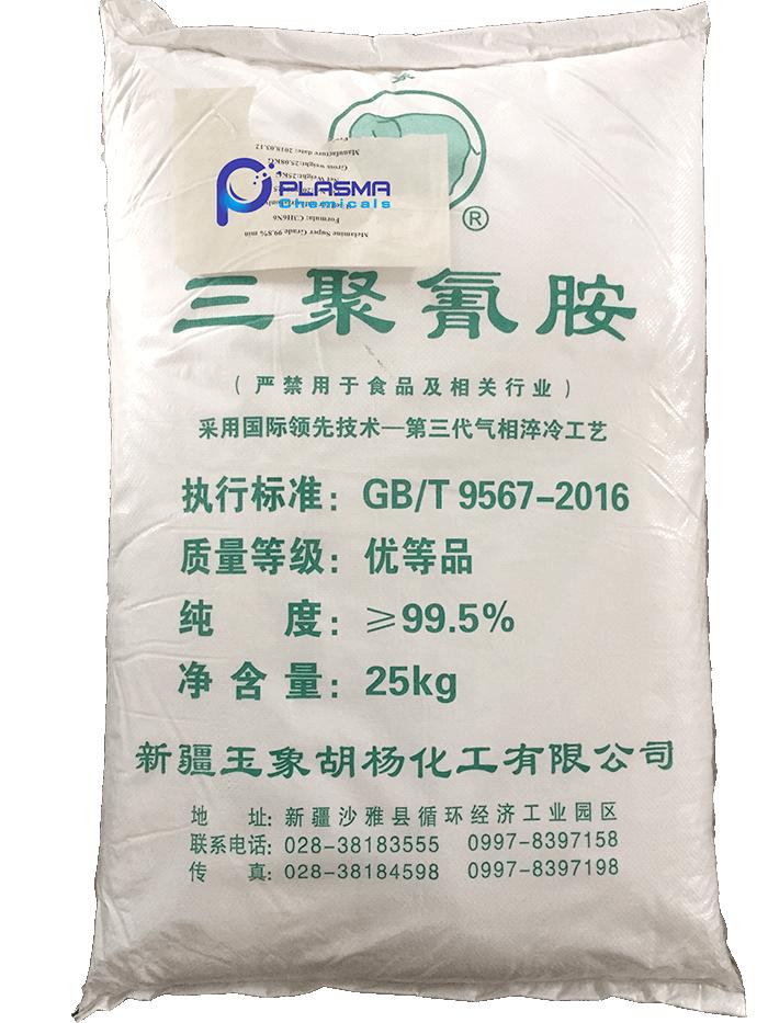 Hóa chất Melamine (Melamin) C3H6N6