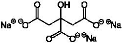 cấu tạo phân tử của Natri citrat