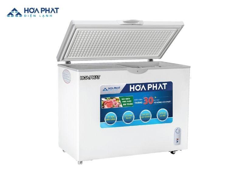 Tủ đông Hòa Phát 1 ngăn Inverter HCFI 516S1Đ1 dành cho khách hàng chú trọng vào tính năng tiết kiệm điện