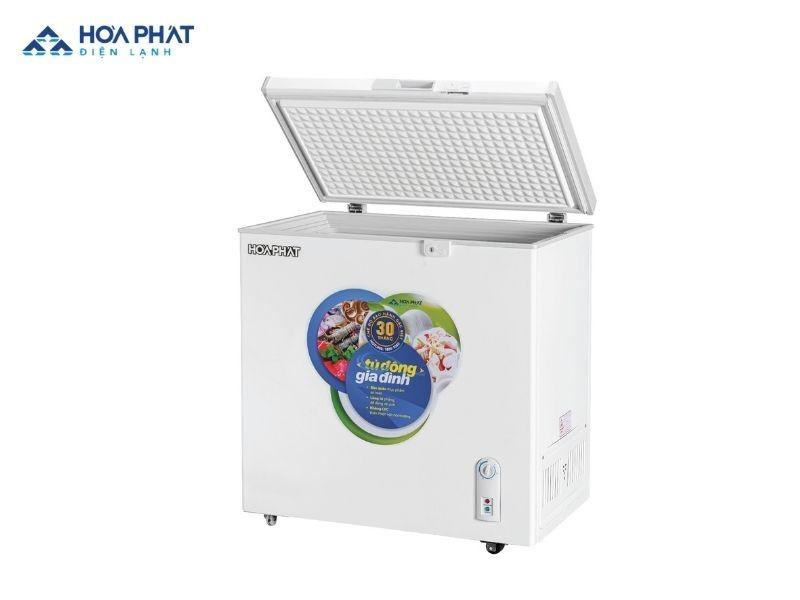 Tủ đông Hòa Phát HCF 336S1N sử dụng gas R600a có hiệu suất làm lạnh nhanh, an toàn với người sử dụng