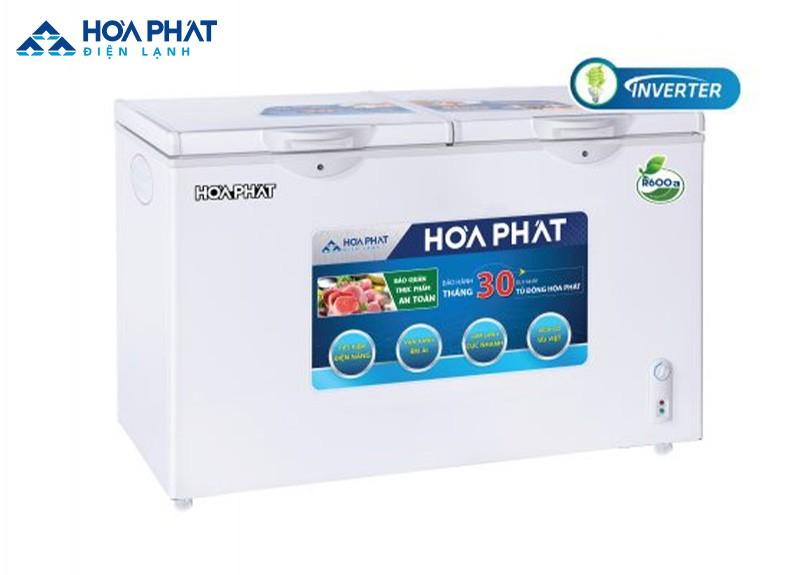 Nếu muốn để nhiều hơn hai loại thực phẩm thì tủ đông Hòa Phát 200L 2 cánh mở HCF 506S2Đ2 là sự lựa chọn phù hợp