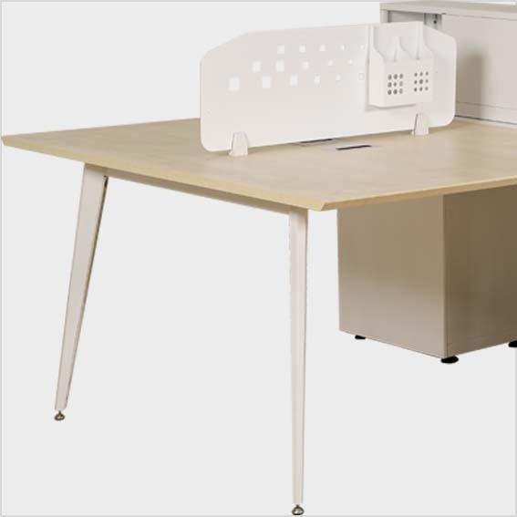 Chân bàn, vách ngăn bằng thép sơn tĩnh điện