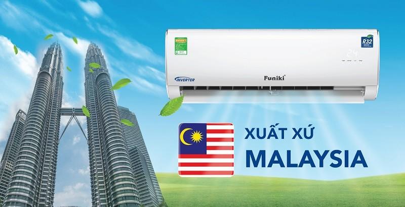 Điều hòa Funiki nhập khẩu nguyên chiếc từ Malaysia