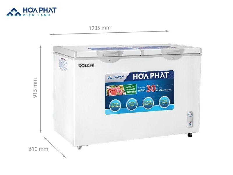 Tủ đông Hòa Phát HCFI 606S2Đ2/HCF 606S2Đ2/HCF 606S2N2