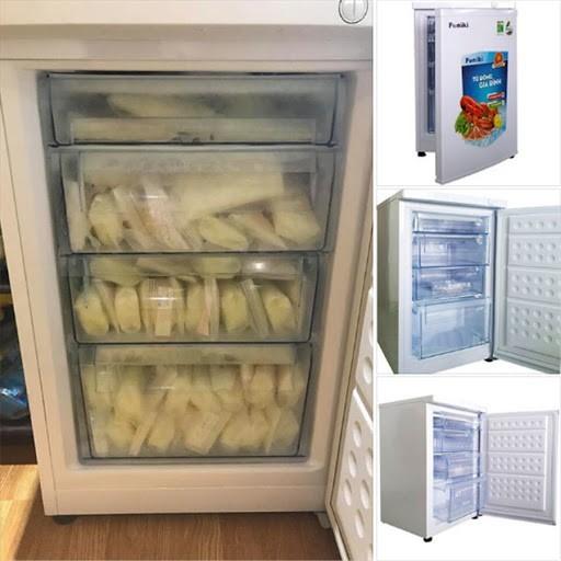 Tủ đông đứng phù hợp để trữ sữa mẹ do có thể đánh dấu và chia ngăn theo từng tháng