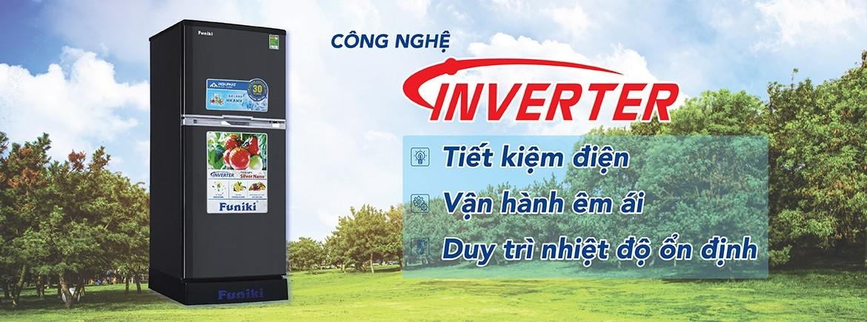 Tủ lạnh Funiki Inverter giúp tiết kiệm điện, giảm tiếng ồn hiệu quả và góp phần bảo vệ môi trường