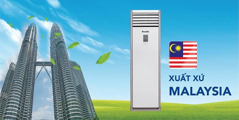 Điều hòa tủ đứng Funiki xuất xứ từ Malaysia