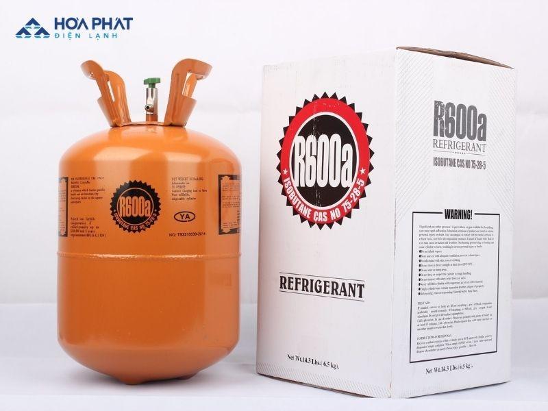 Gas R600a là loại gas thế hệ mới, thường được dùng trong tủ đông hiện nay
