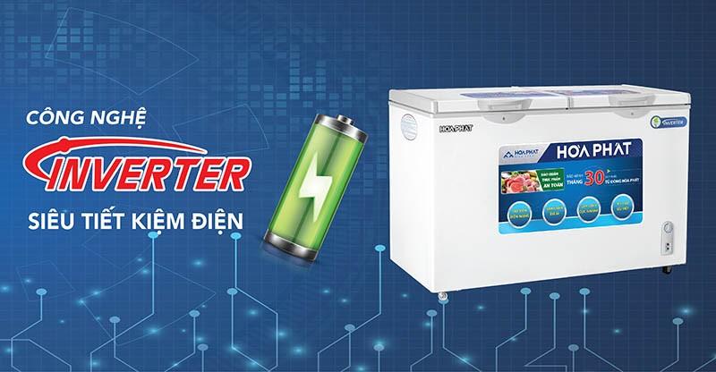 Tủ đông tiết kiệm điện công nghệ Inverter
