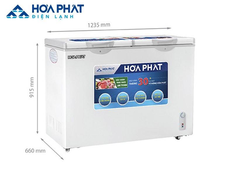 Tủ đông tiết kiệm điện HCFI 656S2Đ2 2 chế độ