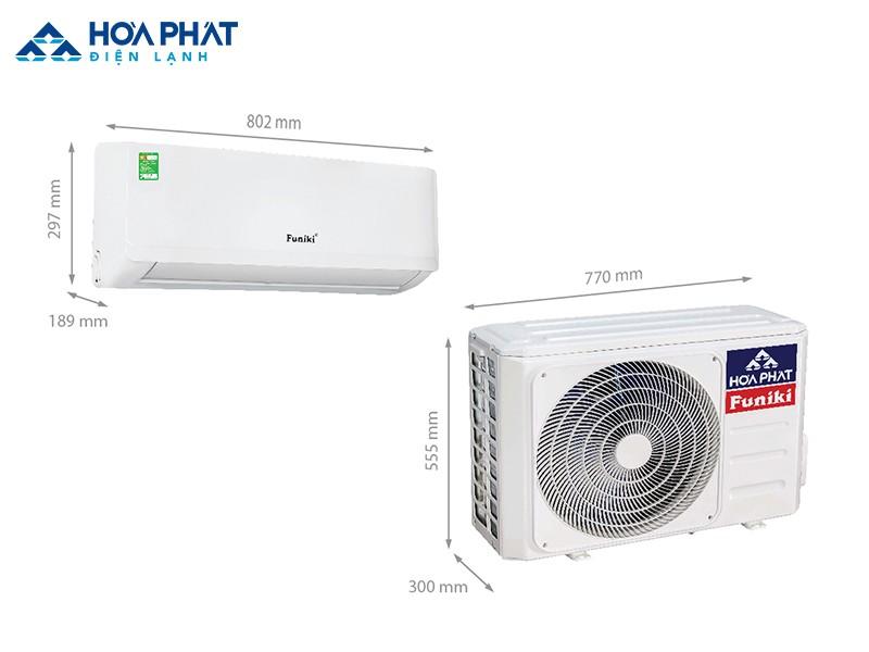 Các dòng điều hòa không khí Funiki được sản xuất trên dây chuyền hiện đại và nhập khẩu nguyên chiếc từ Malaysia