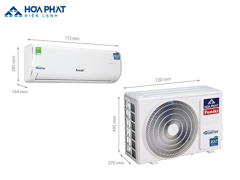 Điều hòa Funiki Inverter HIC 09MMC phù hợp với căn phòng có diện tích tối đa là 15m2 và người dùng rất coi trọng khả năng tiết kiệm điện