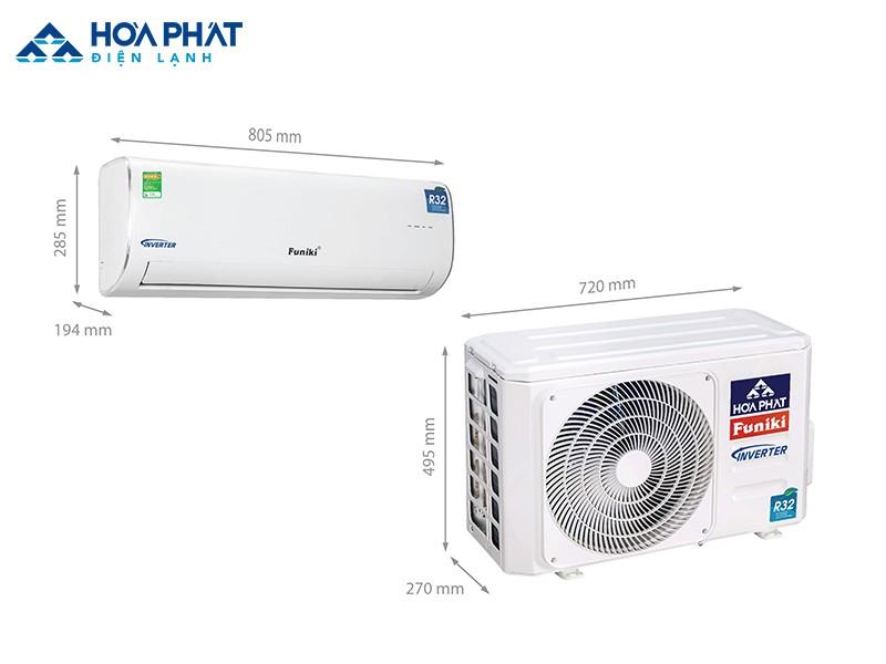 Nếu bạn muốn mua điều hòa cho căn phòng 15 - 20 m2 có chất lượng tốt, khả năng tiết kiệm điện tối ưu thì nên chọn điều hòa Funiki Inverter HIC 12MMC