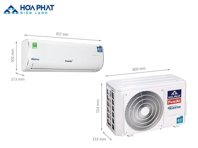 Điều hòa Funiki Inverter HIC 18MMC phù hợp với không gian 20 - 30 m2 và người dùng muốn tiết kiệm tiền điện hàng tháng