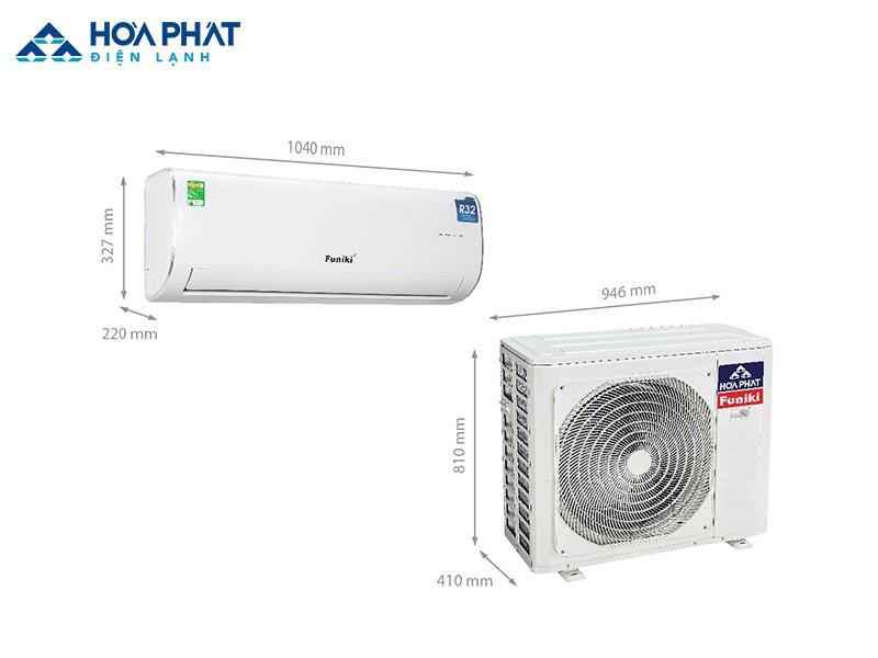 Nếu bạn là người coi trọng giá cả, chất lượng, khả năng tiết kiệm điện, muốn tìm một chiếc điều hòa phù hợp với căn phòng 30 - 40 m2 thì điều hòa Funiki HSC 24MMC chính là một phương án đáng xem xét