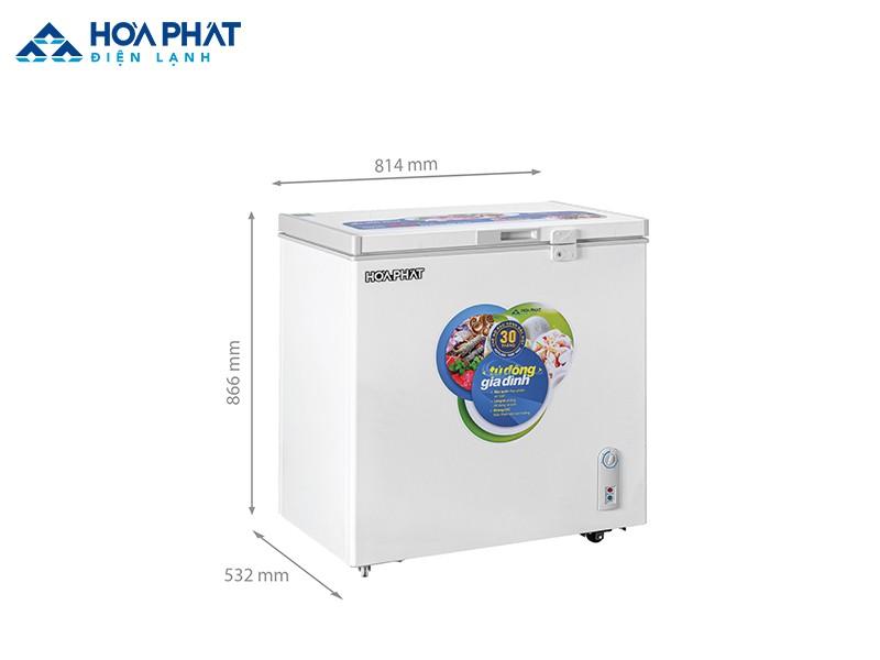 Tủ đông 1 ngăn Hòa Phát HCF 336S1N1