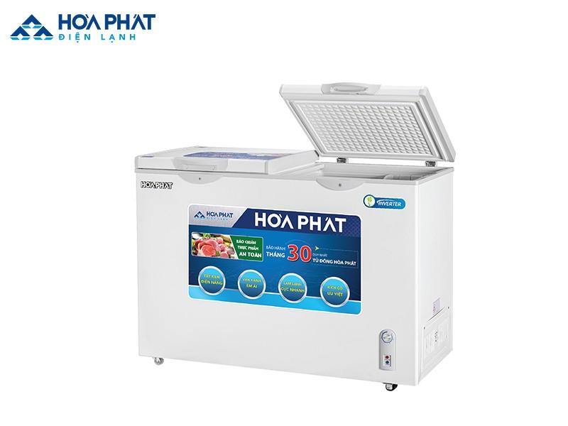 Tủ đông Hòa Phát 2 ngăn HCF 506S2N2 với dàn lạnh nhôm
