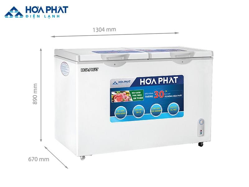 Chủ kinh doanh cửa hàng kem, đông lạnh quy mô trung bình nên chọn tủ đông HCFI 666S1Đ2 dung tích 352 lít, 1 ngăn đông, 2 cánh mở