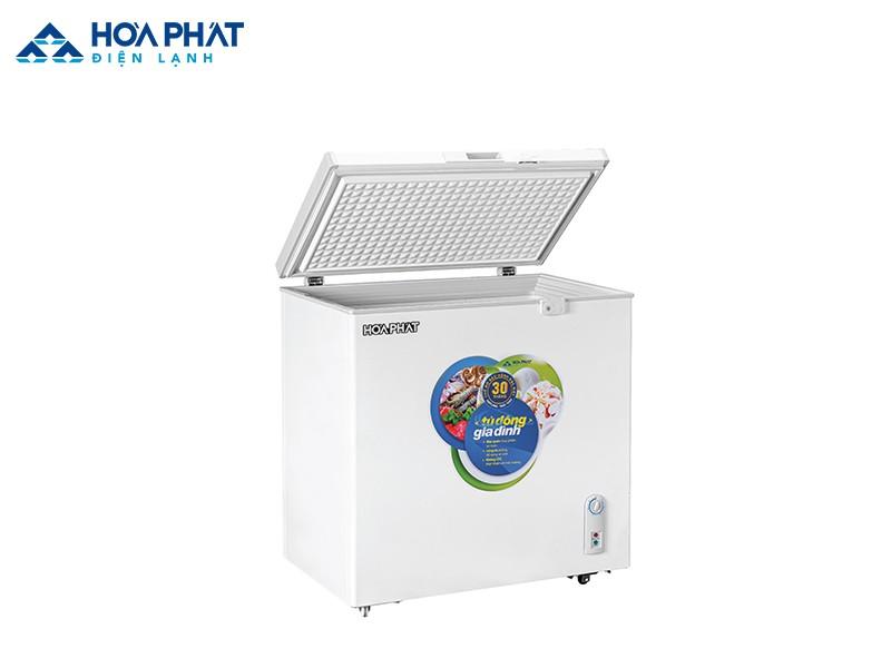 Tủ đông HCF 336S1Đ1 với dàn lạnh đồng cùng dung tích sử dụng 162 lít