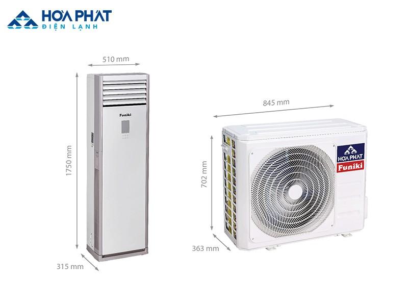 Điều hòa Funiki FC 27MMC là sản phẩm dành cho những căn phòng 30 - 40 m2, không nhất thiết phải để điều hòa một chỗ