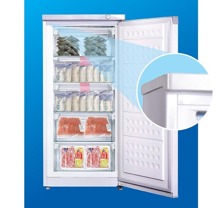 Tủ đông Hòa Phát có lớp cách nhiệt dày giúp giữ nhiệt và bảo quản thực phẩm tốt hơn