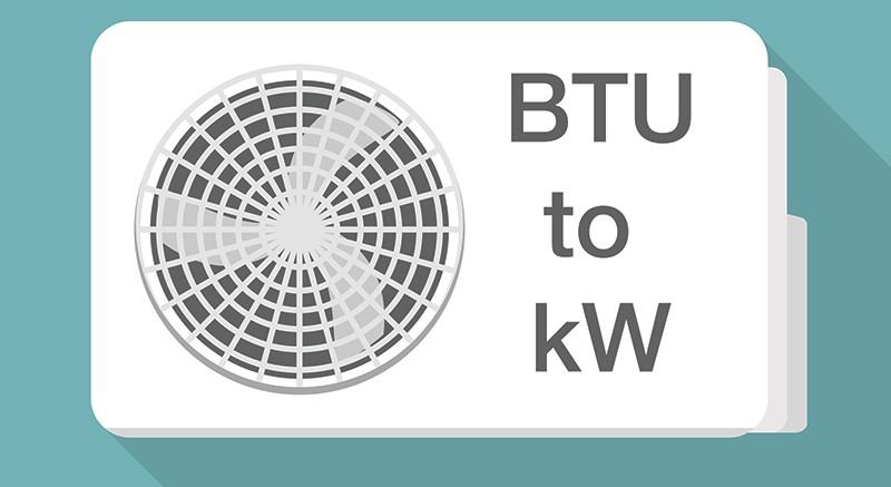 BTU là chỉ số quan trọng cần quan tâm khi mua điều hòa