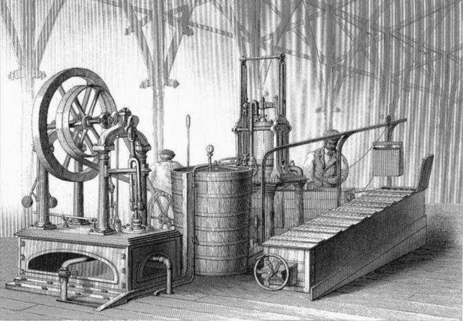 Cỗ máy tạo băng của James Harrison