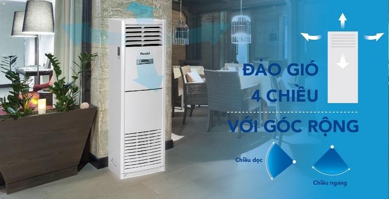 Điều hòa tủ đứng FC 27MMC của thương hiệu Hòa Phát sang trọng đặt được nhiều không gian nhà hàng khác nhau