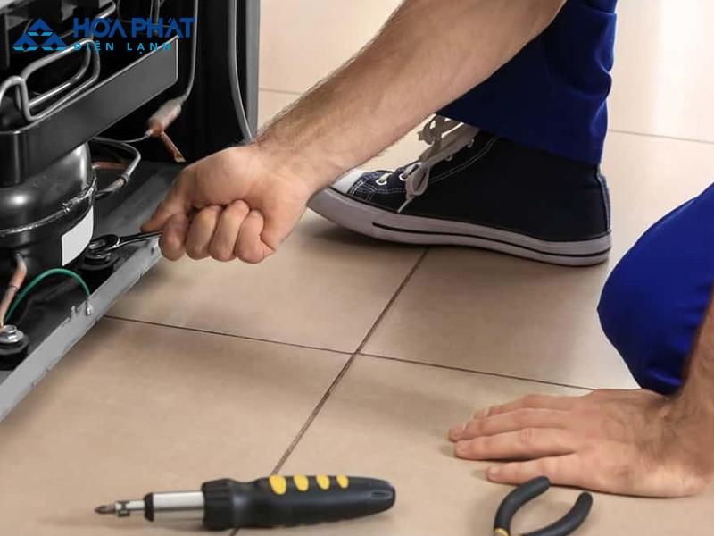 Hỏng động cơ khiến tủ lạnh không vào điện và không hoạt động được