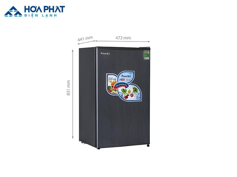 Tủ lạnh Funiki FR-90DSU 90 lít - sản phẩm có dung tích lớn nhất trong dòng tủ lạnh Funiki mini