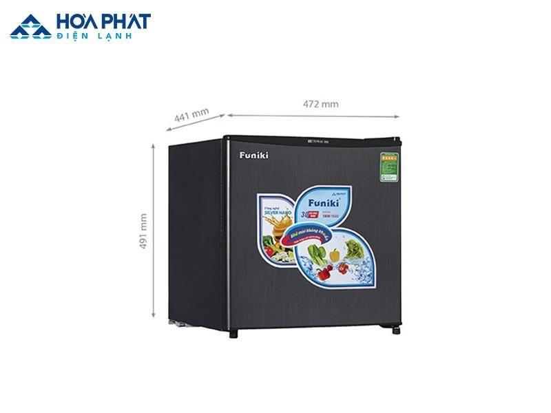 Tủ lạnh Funiki FR-51DSU - 46 lít là phiên bản màu đen của tủ lạnh FR-51CD 46 lít
