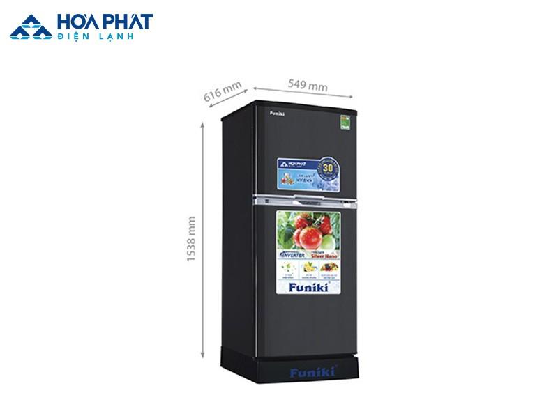 Tủ lạnh 200 lít Funiki - một sản phẩm của thương hiệu Hòa Phát được nhiều gia đình lựa chọn
